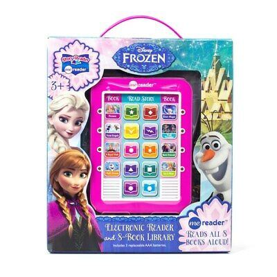 Electronic Pad Reading System Movie Me Reader Frozen Books