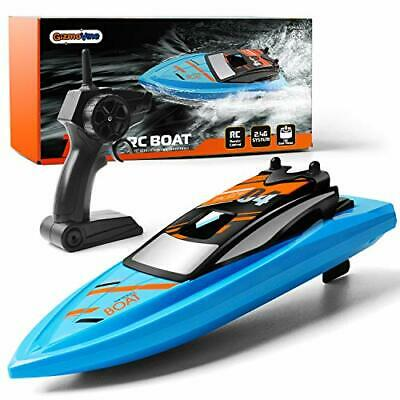 GizmoVine Remote Control Boat 2.4GHz High Speed 4 Channels