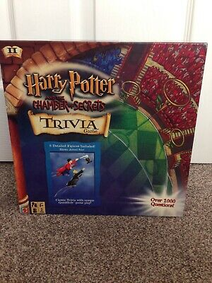 Mattel Games Harry Potter & The Chamber Of Secrets Trivia