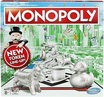 Monopoly Classic New Token Line Up - BRAND NEW VERSION