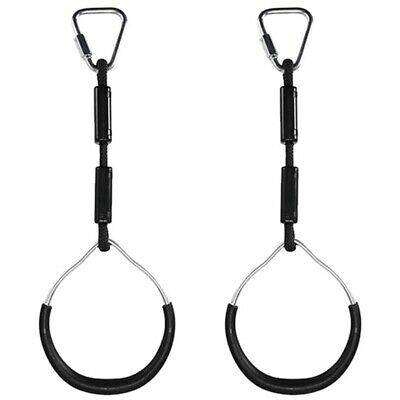 2Pcs Swing Bar Rings Kids Gymnastic Rings Wear Resistant for