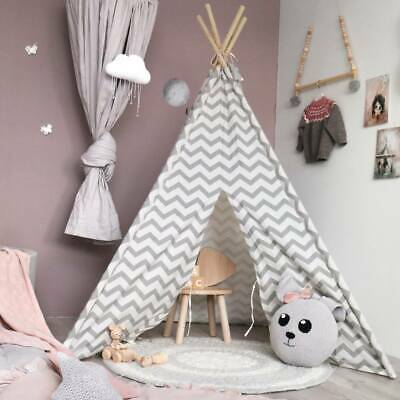 (Open-Box) Teepee Tent For Kids Play Tent Cotton Children