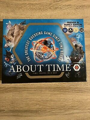 About Time Award Winning Time Travel Board Game Friends &