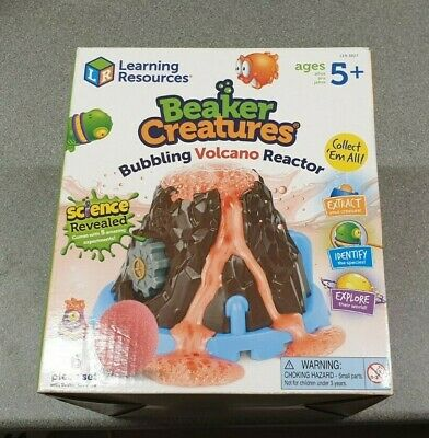 Beaker Creatures Bubbling Volcano Reactor Used - With 2 NEW