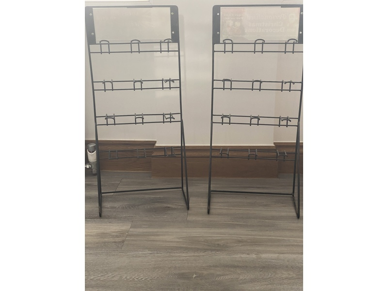 Retail Counter Hook Display Stand x 4