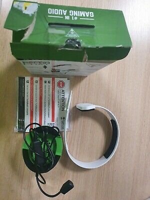 Slightly Turtle Beach Recon Chat White Headset for Xbox One.