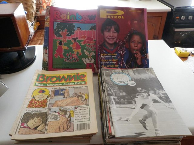 74 Brownie and Guide Magazines