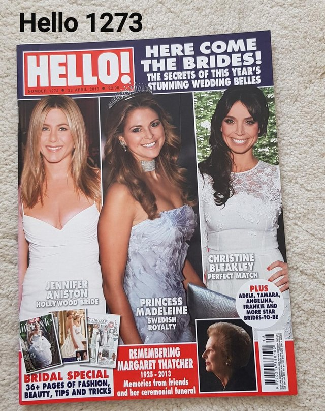 HelloMagazine  - Bridal Special 36+ pages