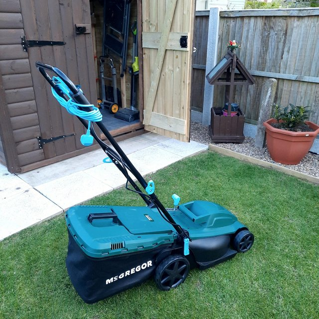 McGregor w electric rotary mower