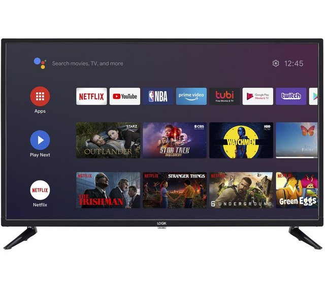 """LOGIK 32"""" ANDROID SMART HD READY LED TV WITH GOOGLE"""