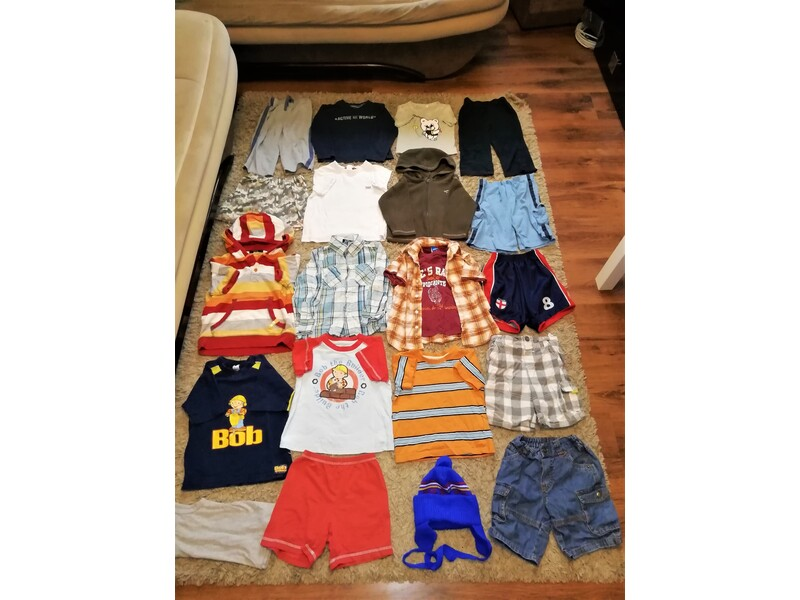Large Bundle Of Boys Clothes Age 2-3 and 3-4 years Nearly 30