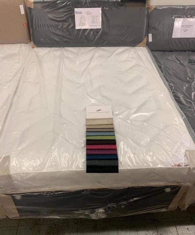 MOLLY DIVAN BED WITH 9 INCH QUILTED MATTRESS