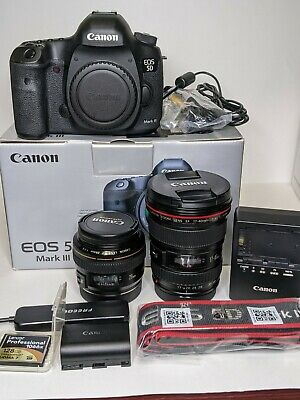 Canon 5D Mark III with mm f4L and 28mm f1.8 Only 70k