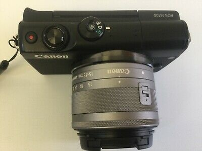Canon EOS M100 with EF-M  mm f/ IS STM Lens