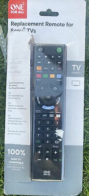 One for All URC Sony TV Replacement Remote Control