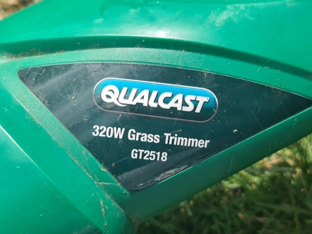 Qualcast W Rotary Mower:and: 320W Strimmer