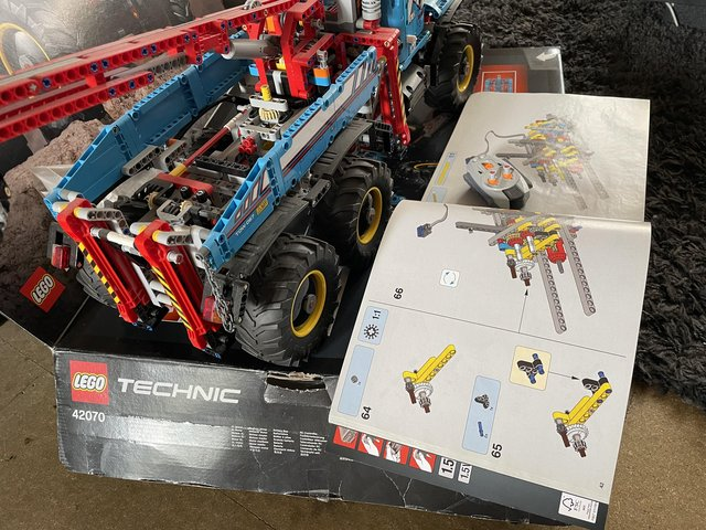 Lego Technic recovery truck for sale