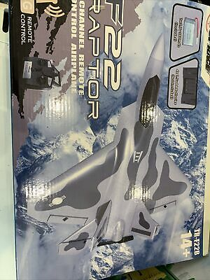 Top Race Remote Control/RC Jet, 4 channel Fighter Plane,