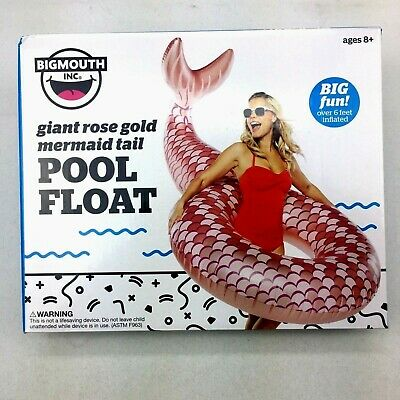 Swimming Pool Float Inflatable Raft Rose Gold 6FT Giant