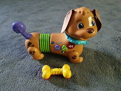 VTech Walk & Wiggle Learning Pup Baby Musical Toy,
