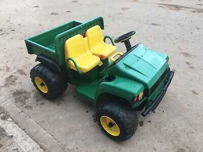 John Deere 12V Gator HPX Kids Electric Tractor Two Seater