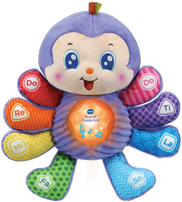 VTech Baby Musical Toy Cuddle Bug, Educational with Sounds