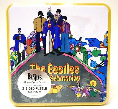 """The Beatles """"Yellow Submarine"""" 2-Sided Jigsaw Puzzle 300"""