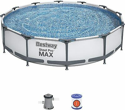 Bestway Extra Large 12ft Swimming Pool with Filter Pump