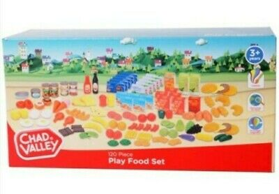 Chad Valley PLAY FOOD SET Sainsburys 120 Pieces Age 3+