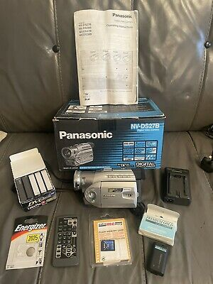 PANASONIC NV-DS27B CAMCORDER MINI DV TAPE DS27B - BOXED WITH