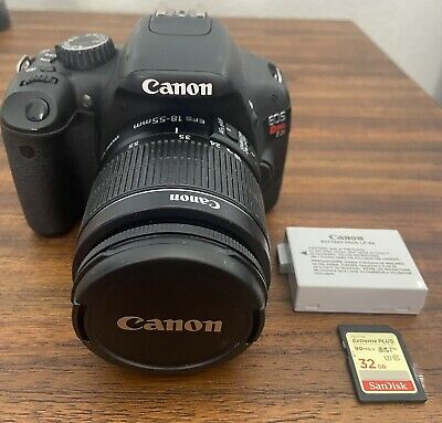 Canon EOS Rebel T2i DSLR Camera with EF-S mm f /
