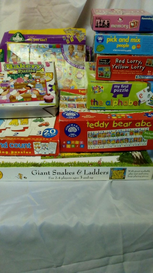 Job lot childrens early learning games