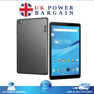 """Lenovo M8 Smart Tab 4G LTE 32GB 8"""" Android Tablet With"""