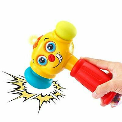 VATOS Baby Toys Light& Musical Baby Hammer Toy for 12 to 18