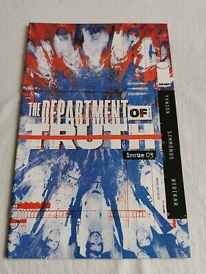 DEPARTMENT OF TRUTH ( - Third Printing - New Bagged