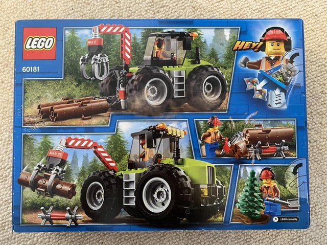 Lego Forest Tractor  brand new unopened box