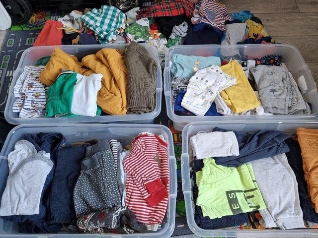 Job lot of boys clothes for sale